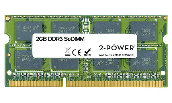 Satellite Pro S500-159 2GB DDR3 1066MHz DR SoDIMM