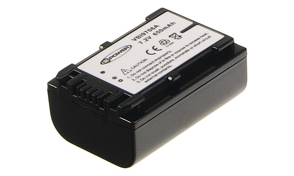 HDR-CX130 Batteria (2 Celle)