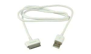 USB Sync data Cable Lead - White